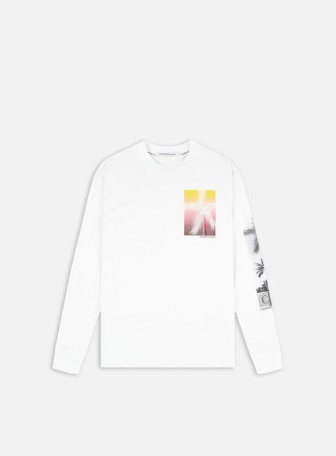 Calvin Klein Jeans New Palm Print LS T-shirt