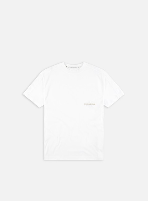 Short sleeve T-shirts Calvin Klein Jeans Off Placed Oversized T-shirt