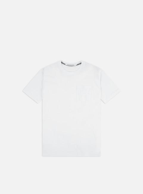 Outlet e Saldi T-shirt a Manica Corta Calvin Klein Jeans Omega Regular Pocket T-shirt