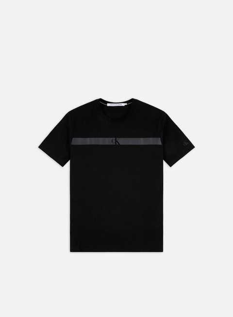 Calvin Klein Jeans Organic Cotton Horizontal Panel T-shirt