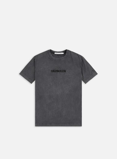 Short sleeve T-shirts Calvin Klein Jeans Outline Logo Washed T-shirt