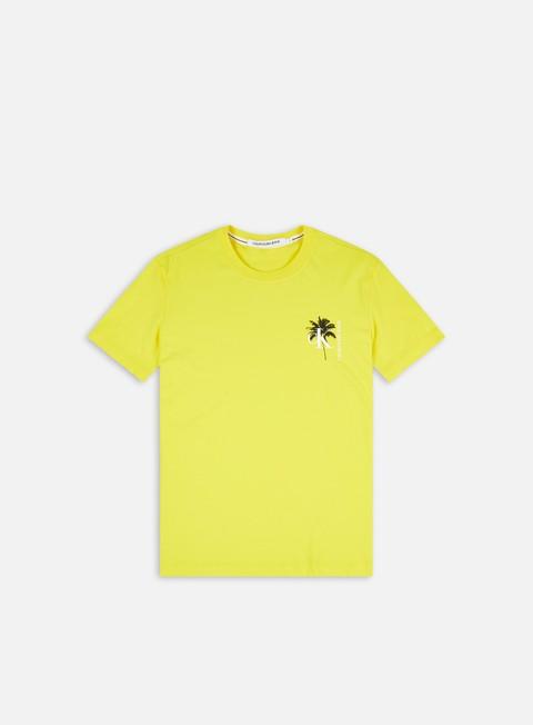 Calvin Klein Jeans Palm Print Graphic T-shirt