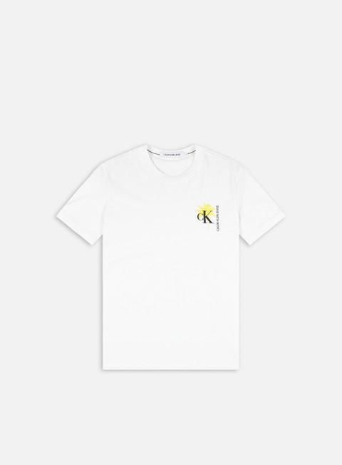 T-shirt a Manica Corta Calvin Klein Jeans Palm Print Graphic T-shirt