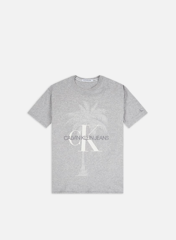 Calvin Klein Jeans Palm Tree Monogram Slim T-shirt
