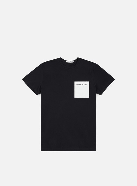 t shirt calvin klein jeans pocket institutional t shirt ck black
