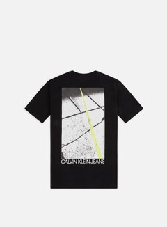 Calvin Klein Jeans Skater Photo Neon T-shirt