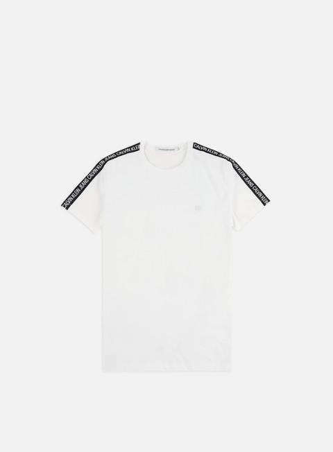 Short Sleeve T-shirts Calvin Klein Jeans Sleeves Logo Insititutional T-shirt