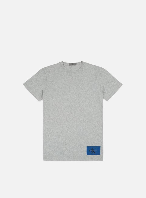t shirt calvin klein jeans takoda t shirt light grey heather