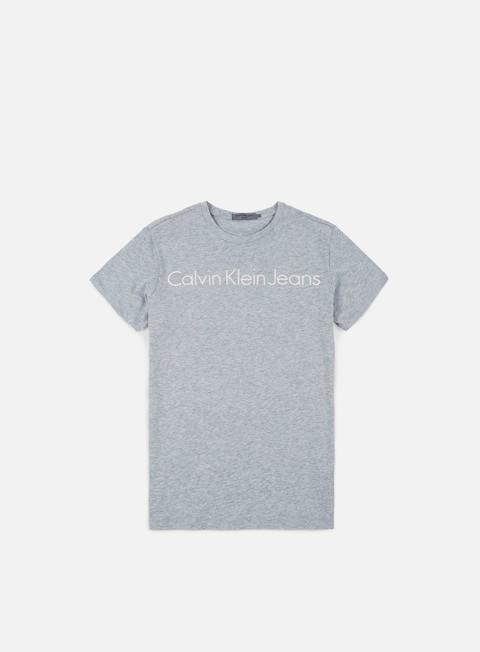 Outlet e Saldi T-shirt a Manica Corta Calvin Klein Jeans Treasure 2 T-shirt
