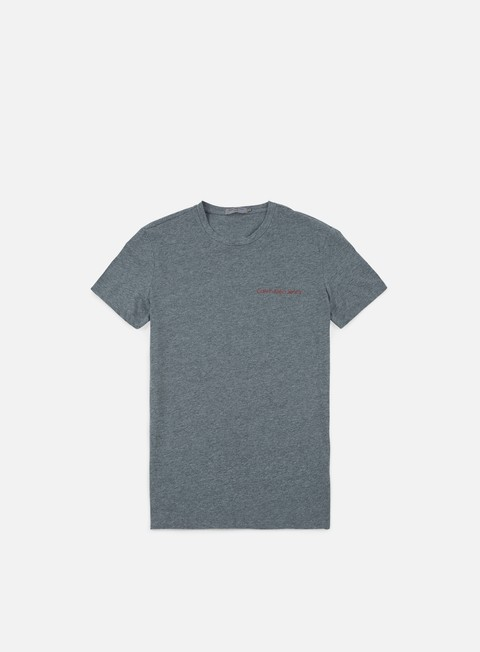 t shirt calvin klein jeans typoko t shirt mid grey heather