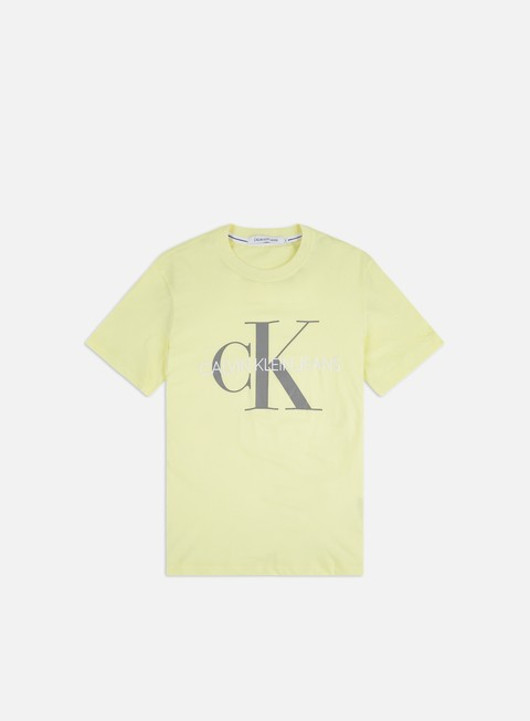 Outlet e Saldi T-shirt a Manica Corta Calvin Klein Jeans Vegetable Dye Monogram T-shirt