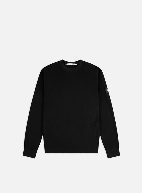 Long Sleeve T-shirts Calvin Klein Jeans Waffle LS T-shirt