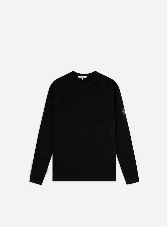 Calvin Klein Jeans Waffle Monogram LS T-shirt