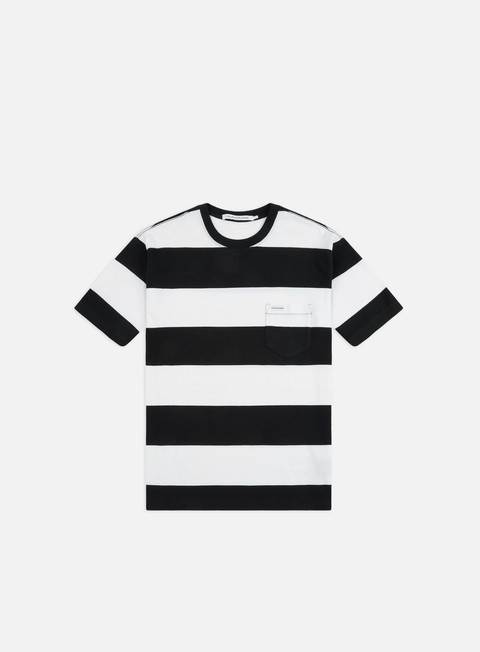 Short Sleeve T-shirts Calvin Klein Jeans Wide Stripe Pocket T-shirt