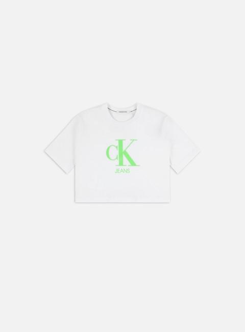 T-shirt a Manica Corta Calvin Klein Jeans WMNS Gel Print Monogram T-shirt