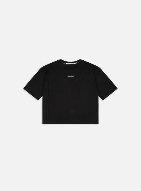 Calvin Klein Jeans WMNS Micro Branding Loose T-shirt