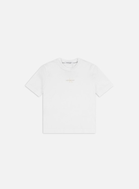 T-shirt a Manica Corta Calvin Klein Jeans WMNS Monogram Logo T-shirt