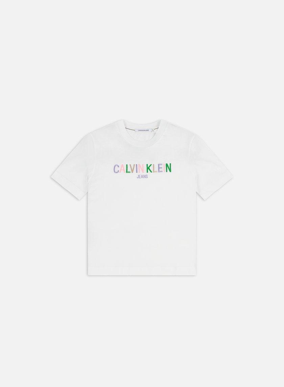 Calvin Klein Jeans WMNS Multicolored Logo T-shirt