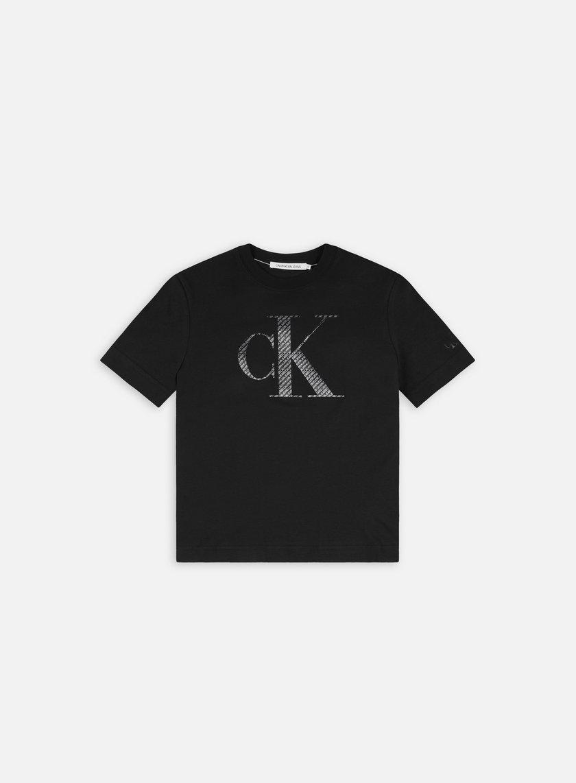 Calvin Klein Jeans WMNS Satin Bonded Filled T-shirt