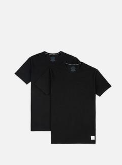 Calvin Klein Underwear - ID Cotton Lounge Crewneck T-shirt 2 Pack, Black