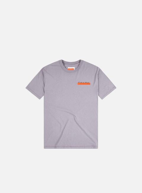 T-shirt a manica corta Calvin Klein X Heron Preston WMNS Organic Cotton Heavy Weight Logo T-shirt