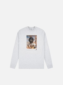Carhartt - 1998 Ad Jay One LS T-shirt, Ash Heather