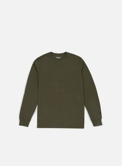 Carhartt - Base LS T-shirt, Cypress/Black