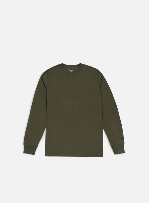 t shirt carhartt base ls t shirt cypress black