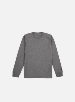 Carhartt - Base LS T-shirt, Dark Grey Heather/Black 1
