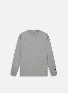 Carhartt - Base LS T-shirt, Grey Heather/Black