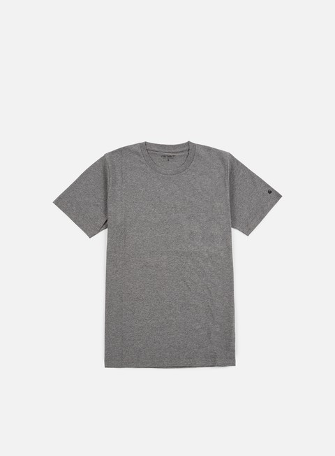 t shirt carhartt base t shirt dark grey heather