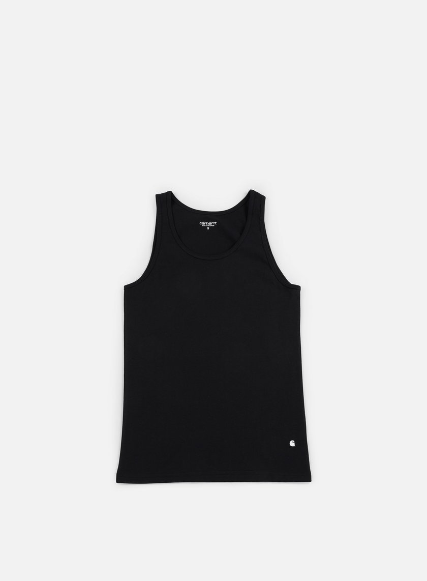 Carhartt - Base Tank Top, Black/White