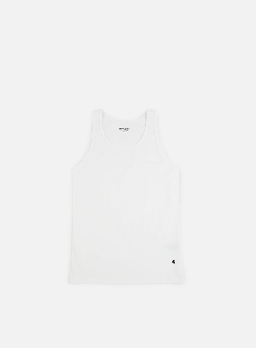 Carhartt - Base Tank Top, White/Black