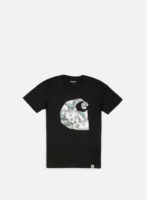 Outlet e Saldi T-shirt a Manica Corta Carhartt Bill C T-shirt