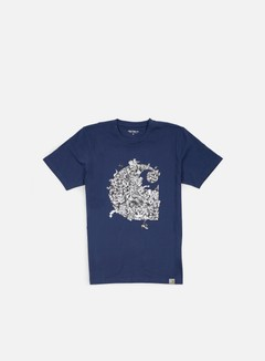 Carhartt - Brawl T-shirt, Blue/Multi 1