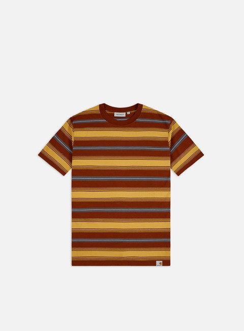 T-shirt con Stampa All Over Carhartt Buren T-shirt