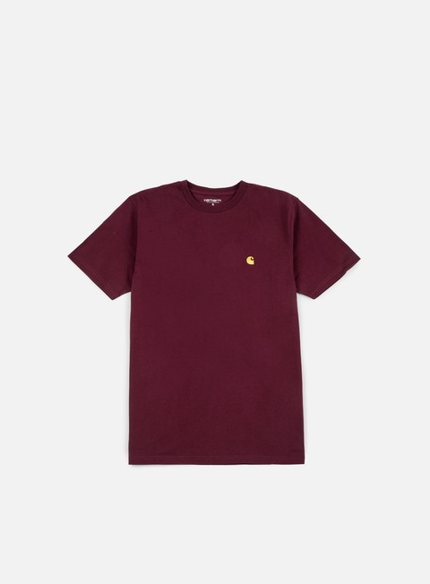 t shirt carhartt chase t shirt amarone heather gold