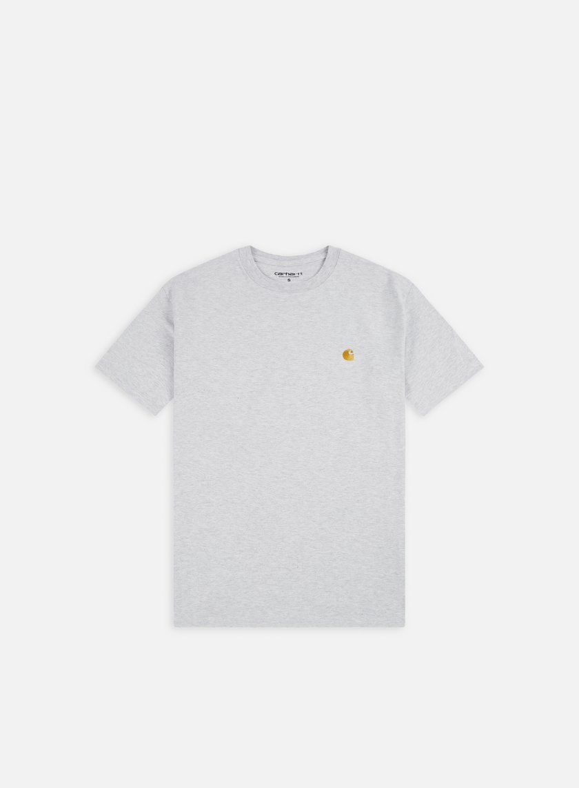 Carhartt - Chase T-shirt, Ash Heather/Gold
