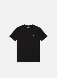 Carhartt - Chase T-shirt, Black/Gold
