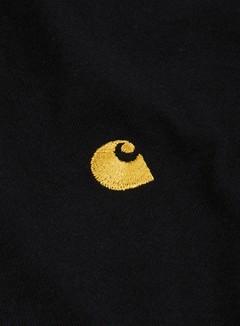 Carhartt - Chase T-shirt, Black/Gold 2