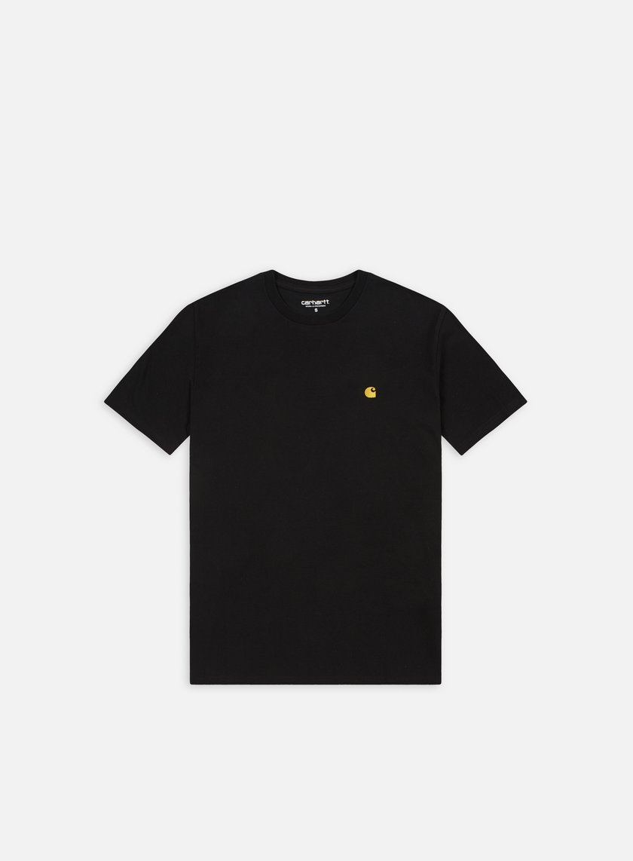 Carhartt - Chase T-shirt, Black/Gold