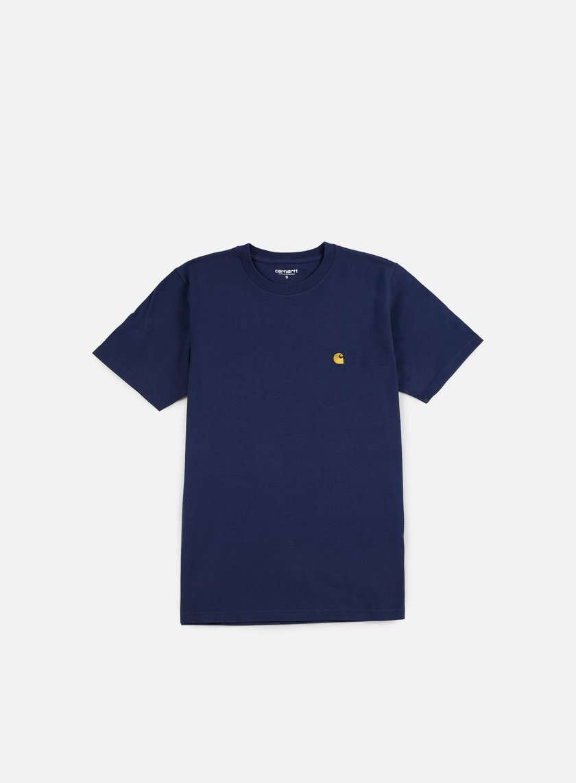 Carhartt - Chase T-shirt, Blue/Gold