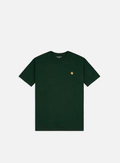 Carhartt - Chase T-shirt, Bottle Green/Gold
