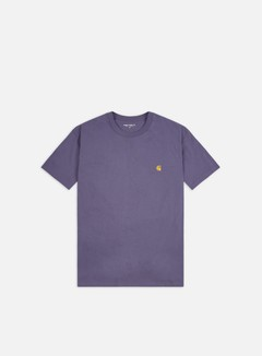 Carhartt - Chase T-shirt, Cold Viola/Gold