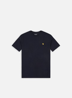 Carhartt - Chase T-shirt, Dark Navy/Gold