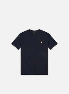Carhartt - Chase T-shirt, Dark Navy/Gold