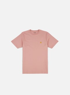 Carhartt - Chase T-shirt, Soft Rose/Gold