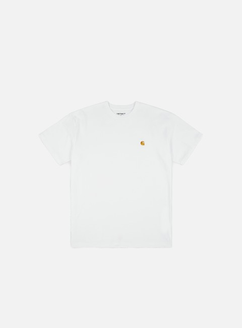 t shirt carhartt chase t shirt white gold