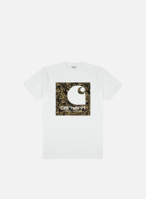 t shirt carhartt collage t shirt white