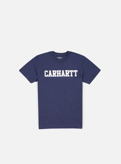 Carhartt - College T-shirt, Blue/White